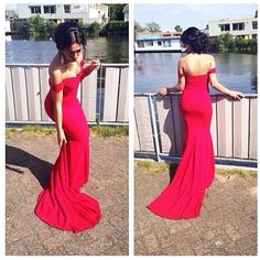 Red Prom Dresses,Mermaid Prom Dress,Satin Prom Dress,Prom Dresses,2016 Formal Gown,Evening Gowns,Party Dress,Mermaid Prom Gown For Teens
