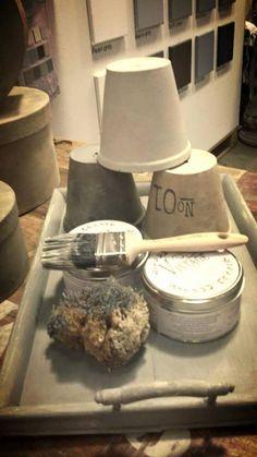 Anche i #vasi in #terracotta possono essere recuperati con la #VintagePaint! Provaci anche tu
