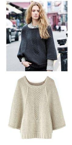 современные пуловеры- ovesize 29 Fotos