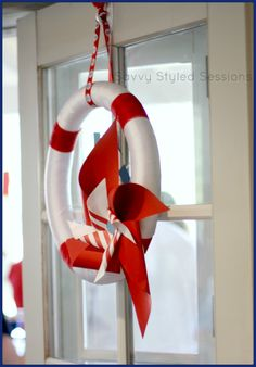 Nautical themed party decor...  Savvy Styled Sessions