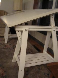 Ikea Blecket Table Top + Artur Trestles No.4 | By P. Madden