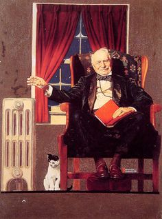 But wait 0til next week - Norman Rockwell - WikiPaintings.org