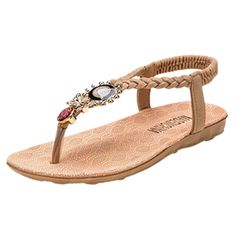 edad32880bf2 Charles Albert Women s Jelly Flip Flop Sandal with Rhinestone Bow ...