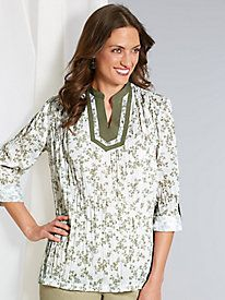 American Sweetheart® Floral Delight Tunic