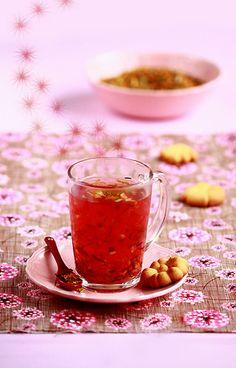 cuisine campgne (thé de noël épicé)