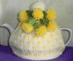 lemon drops ......... hand knitted and by peerietreisures on Etsy