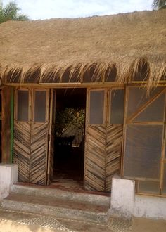 Entry of a house on the island of Carabane, Senegal. (No Link)