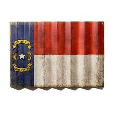 Vintage North Carolina State Flag