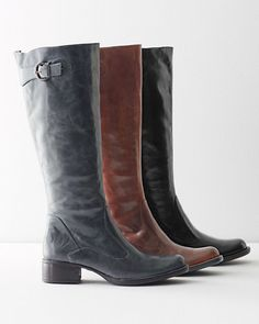Børn Conti Leather Buckle Boots