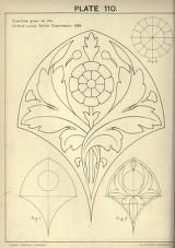 A text book with chapters on elements, principles, and methods of freehand drawing, for the general use of teachers and students . Motifs Art Nouveau, Art Nouveau Pattern, Art Nouveau Design, Art Deco, Zentangle, Motif Arabesque, Jugendstil Design, Bild Tattoos, Desenho Tattoo