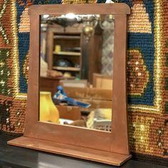 Jugend-tyylinen talonpoikaispeili 1900-luvun alusta. Peilissä on pieni hylly. Frame, Home Decor, Picture Frame, Decoration Home, Room Decor, Frames, Home Interior Design, Home Decoration, Interior Design