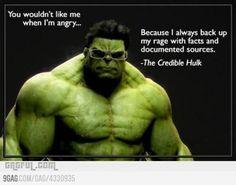 cuidado com o credible hulk