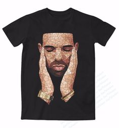 Real AMERICAN US size Drake OVO 3D Sublimation print T-shirt