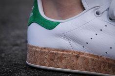 Adidas Stan Smith Luxe W OG Cork White Green
