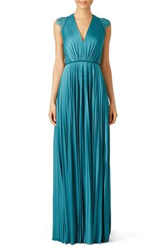 Rent Aqua Elouise Gown by CATHERINE DEANE for $175 only at Rent the Runway. My wedding dress designer! For JB wedding?