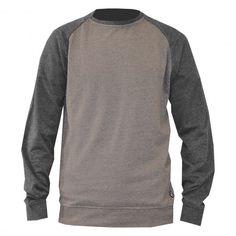 Volcom Timesoft sweat crew fleece bear brown - grey 49€ #volcom #sweat #sweater #sweatcrew #crewneck #fleece #winter #pull #pullover #skate #skateboard #skateboarding #streetshop #skateshop @April Gerald Skateshop