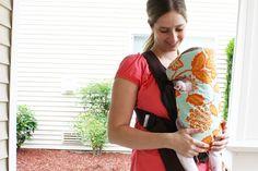 Sew Much Ado: Baby Bjorn Slip Cover Tutorial