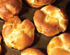 Crispy Herb Popovers  This recipe is a great substitution for bread at any meal and is easy and rewarding to make. Adding fresh herbs compliments your Thanksgiving menu. For best results, do not replace the eggs in this recipe.