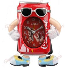 Coca-Cola quartz alarm clock