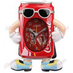 Coca-Cola quartz alarm clock
