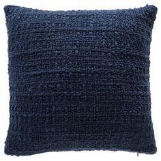 Carson Carrington Kauniainen Decorative Throw Pillow (Navy - 18 x Blue(Acrylic, Solid Color) Navy Blue Throw Pillows, Throw Cushions, Outdoor Throw Pillows, Outdoor Lounge, Indoor Outdoor, Eames, Knitted Throws, Decoration, Decorative Throw Pillows