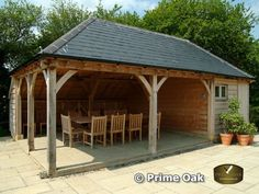 Prime Oak Buildings Ltd, Quality Oak framed Orangeries, Oak Framed Garden Rooms, Oak Conservatories, Oak Garages and Pool Buildings in English Oak. Orangery Conservatory Pergola and Gazebo in Oak Garden Buildings, Garden Structures, Outdoor Structures, Building A Pool, Building A House, Orangery Conservatory, Outdoor Garden Rooms, Oak Framed Extensions, Oak Framed Buildings