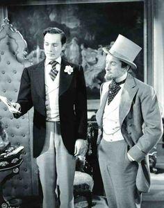 Hurd Hatfieldd & George Sanders in The Picture of Dorian Gray (1945)