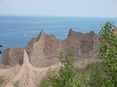 Chimney Bluffs State Park - plan to visit next year when we camp near Lake Ontario! :)