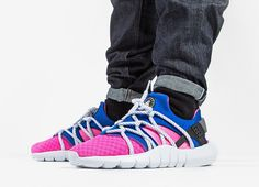 new styles 859f2 1b555 esty shoes nike best price WMNS Nike Air Huarache NM Dynamic Pink Game  Royal 2015 shoes