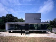 House in Yakeyama by Suppose Design Office