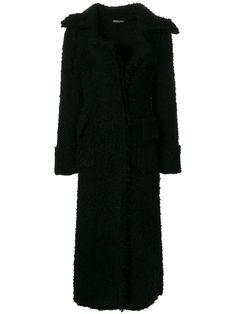 ALEXANDER MCQUEEN ALEXANDER MCQUEEN - LONG TEXTURED COAT . #alexandermcqueen #cloth #