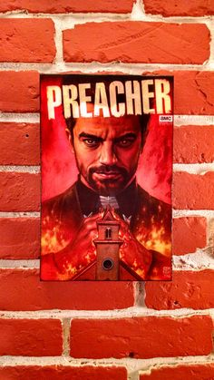 Check out this item in my Etsy shop https://www.etsy.com/listing/386467842/preacher-tv-show-amc-special-cover-2