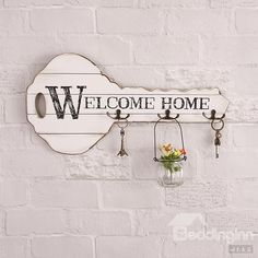 Creative Key Welcome Home  Holder Wall