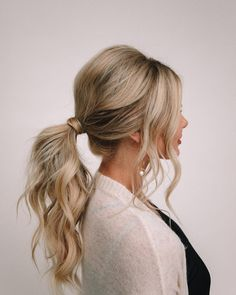 25 simple wedding hairstyles for guests that fit every dress code -. 25 Simple Wedding Hairstyles For Guests That Fit Any Dress Code - Big Southern Hair - S. Easy Wedding Guest Hairstyles, Curly Hair Styles, Hair Styles Work, Up Hairstyles, Hairstyle Ideas, Southern Hairstyles, Easy Work Hairstyles, Hairstyles For Long Dresses, Simple Homecoming Hairstyles