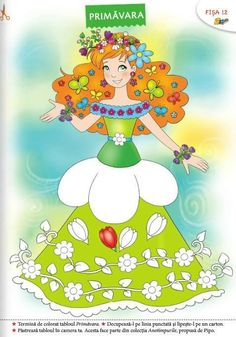 Spring Activities, Activities For Kids, Princess Peach, Disney Princess, Fairy Princesses, Kindergarten Worksheets, Coloring Pages, Barbie, Jar