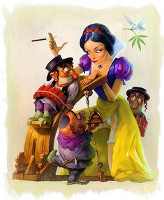 Snow White  by ~Waldemar-Kazak