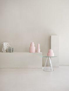 Pink vases_