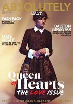Absolutely Magazine EAST FEBRUARY 2014  Zest Media London publish