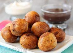 Deep Fried Chocolate Chip Cookie Dough - SugarHero!