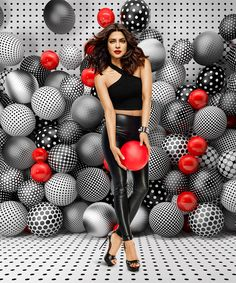 Priyanka Chopra in Appy Fizz ad campaign. Love this set-up!