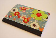 tutorial fabric book cover/ forrar libros con tela