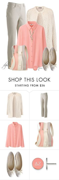 """""""Untitled #5806"""" by dgia ❤ liked on Polyvore featuring James Perse, Gloria Vanderbilt, Uniqlo, 10 Crosby Derek Lam, Chanel, LogoArt and Chan Luu"""