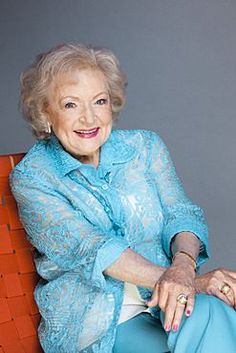 """Betty White says ,""""To be 92 and in good health is incredible,"""" she said. """"I'm blessed with good health, I feel wonderful, I've got good energy. That's a total blessing at this age, because so many things can go wrong. You begin to fall apart"""