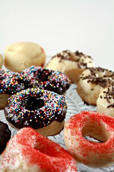 Baked Yeasted Doughnuts
