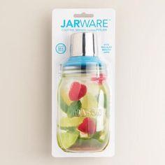 One of my favorite discoveries at WorldMarket.com: Jarware Regular-Mouth Mason Jar Cocktail Shaker