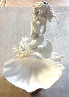 Mermaid's Shell Jewelry Dish