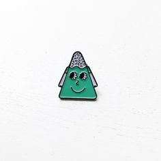 Mount Me Soft Enamel Pin http://www.queenfordinner.com/jewelry/mount-me-soft-enamel-pin