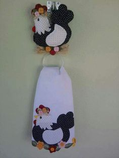 . Kitchen Hand Towels, Dish Towels, Coq, Needlework, Apron, Sewing Projects, Applique, Patches, Snoopy