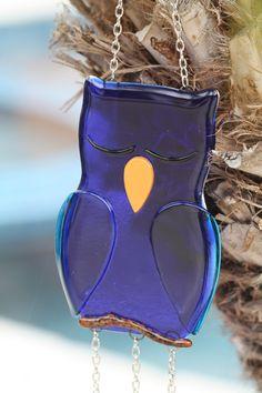 Fused Glass Windchime/Suncatcher-