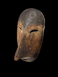Yupik bird mask, 1870s.